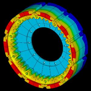 Mechanical Modelling - FEA Stress